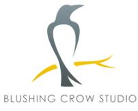 blushing crow